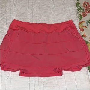 Pace rival skirt lululemon